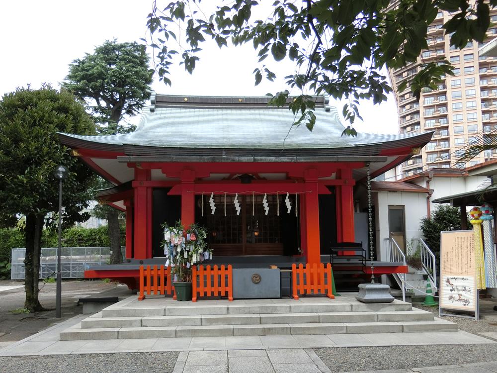 麻布氷川神社の紹介