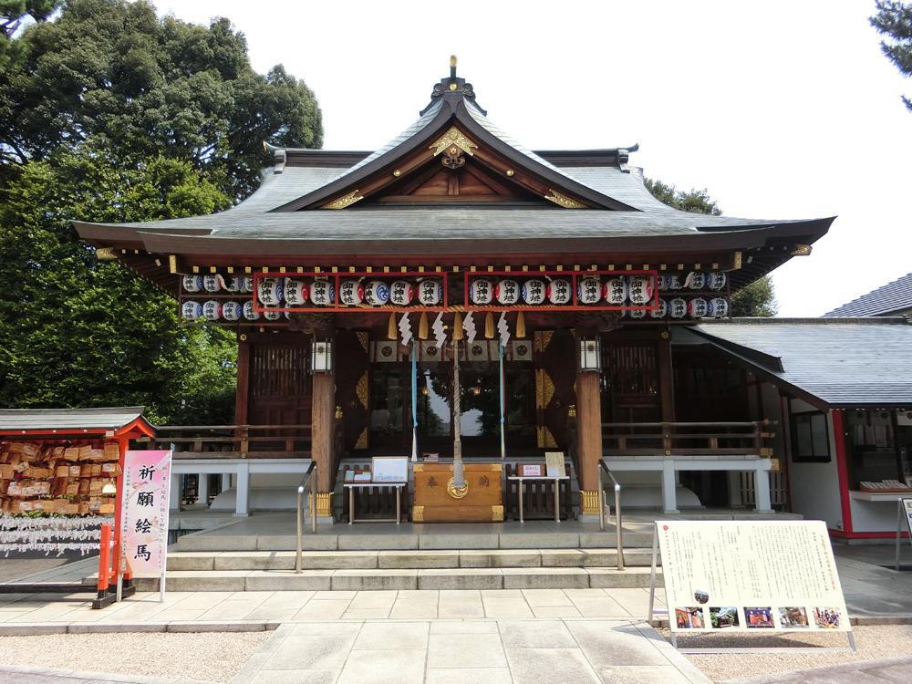 沼袋氷川神社の紹介