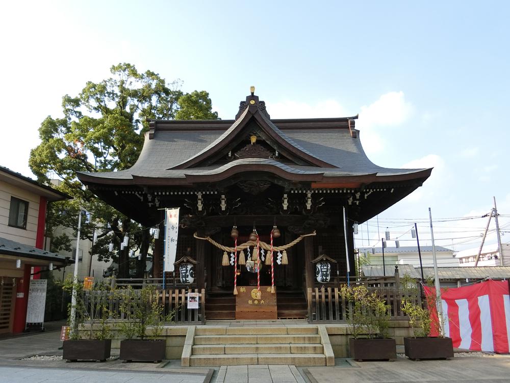 溝口神社の紹介