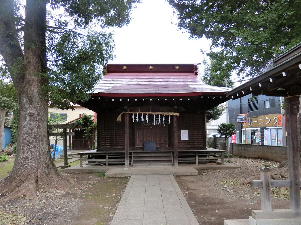 屋敷分浅間神社の紹介