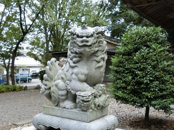 """""""八雲神社の狛犬"""