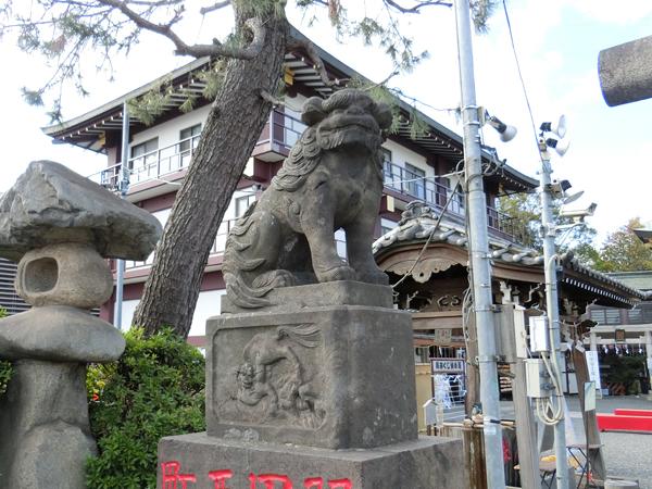 羽田神社の狛犬