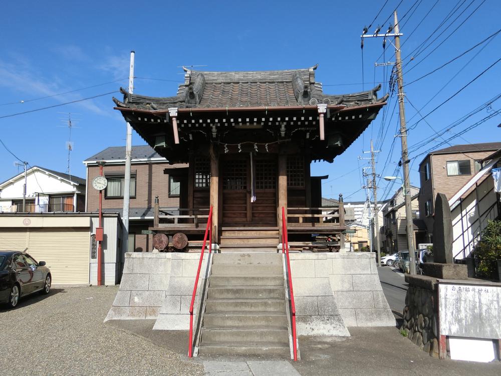 白魚稲荷神社の紹介