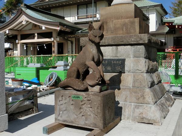 穴守稲荷神社の神狐