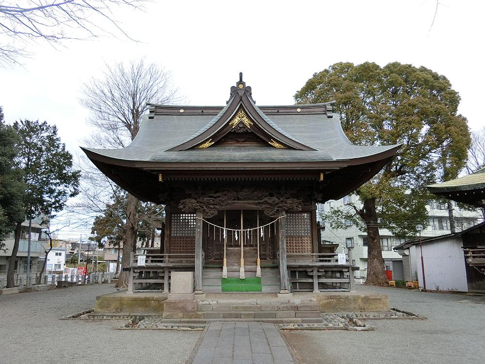 登戸稲荷神社の紹介