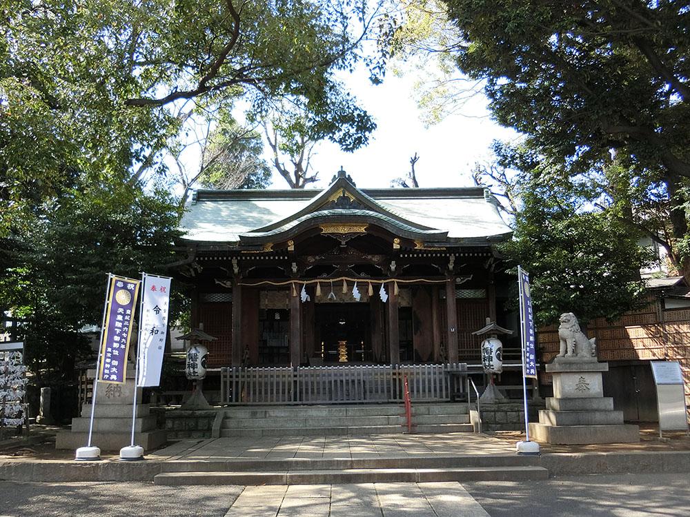 中目黒八幡神社の紹介
