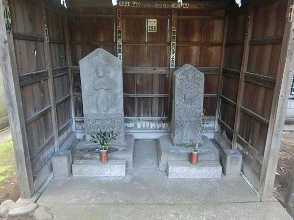 上目黒天祖神社の庚申塔