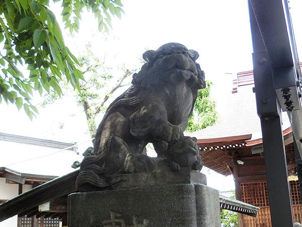 是政八幡神社の狛犬