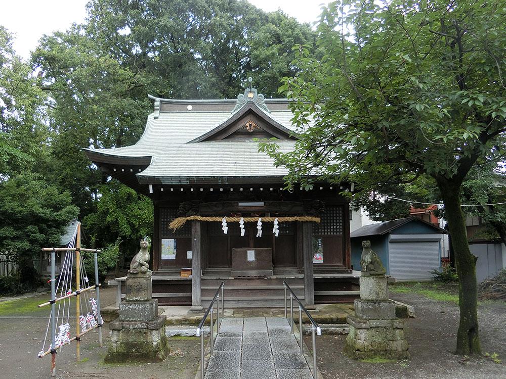 中野島稲荷神社の紹介