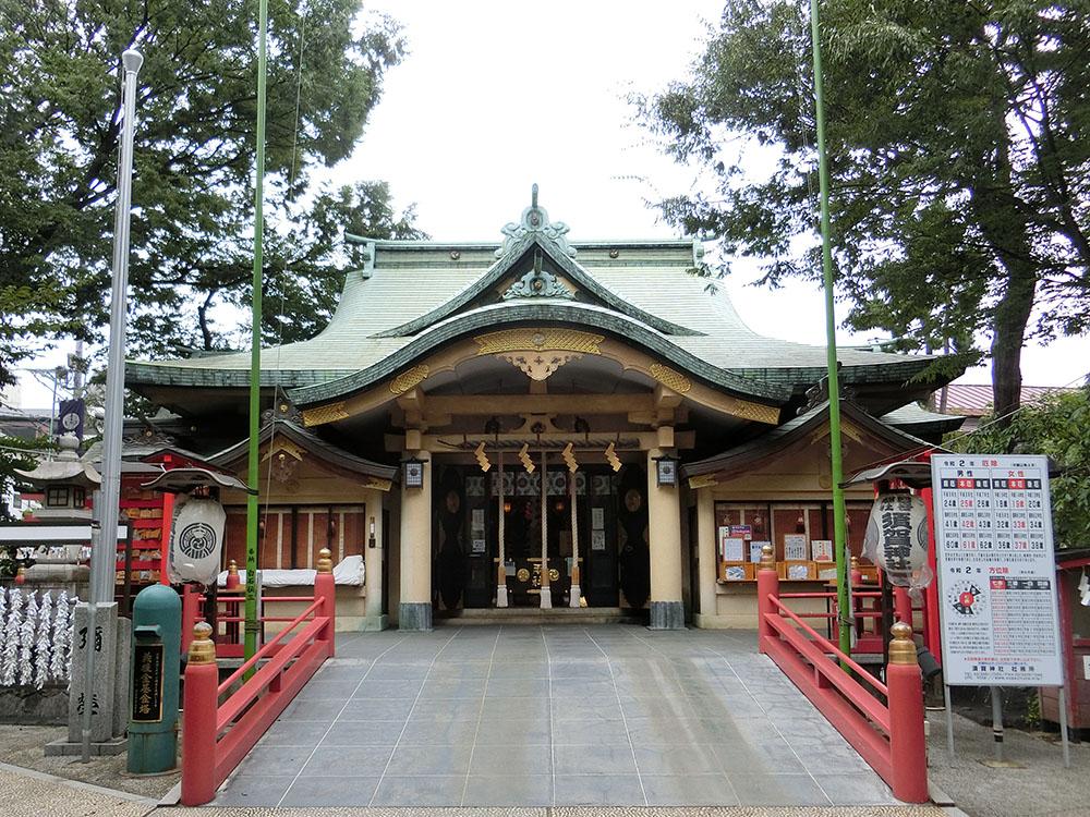 四谷須賀神社の紹介