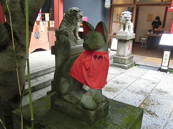 陽運寺の神狐