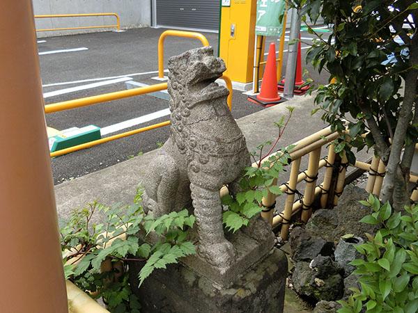 大京神社の狛犬