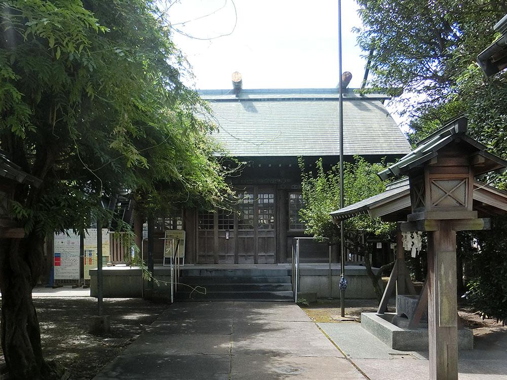 国領神社の紹介