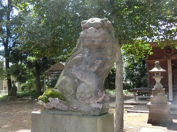 虎狛神社の狛犬