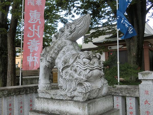雑司が谷大鳥神社の狛犬