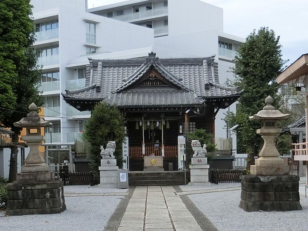 高田氷川神社の紹介
