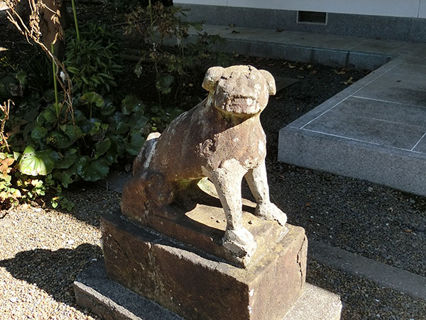 豊田若宮神社の狛犬