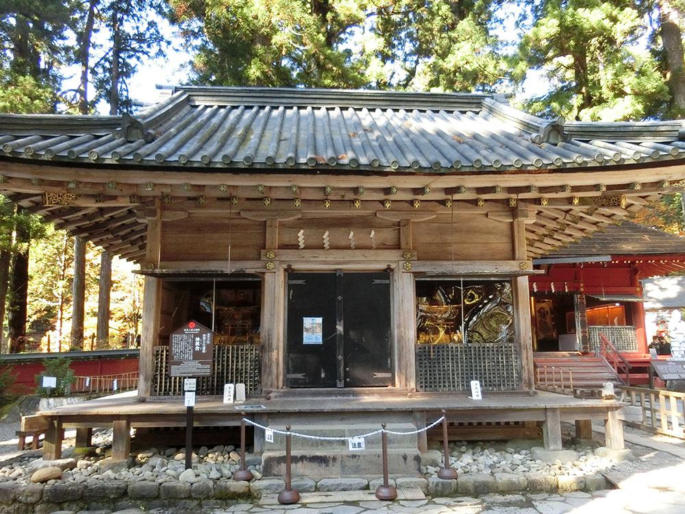 二荒山神社の神輿舎