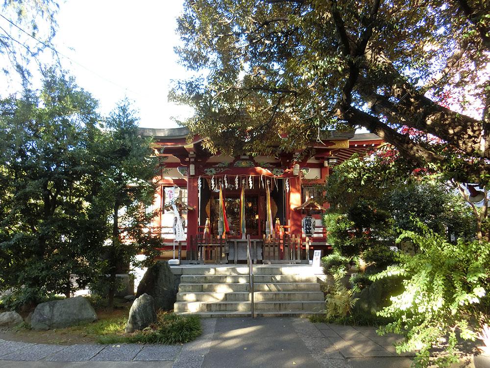青山熊野神社の紹介