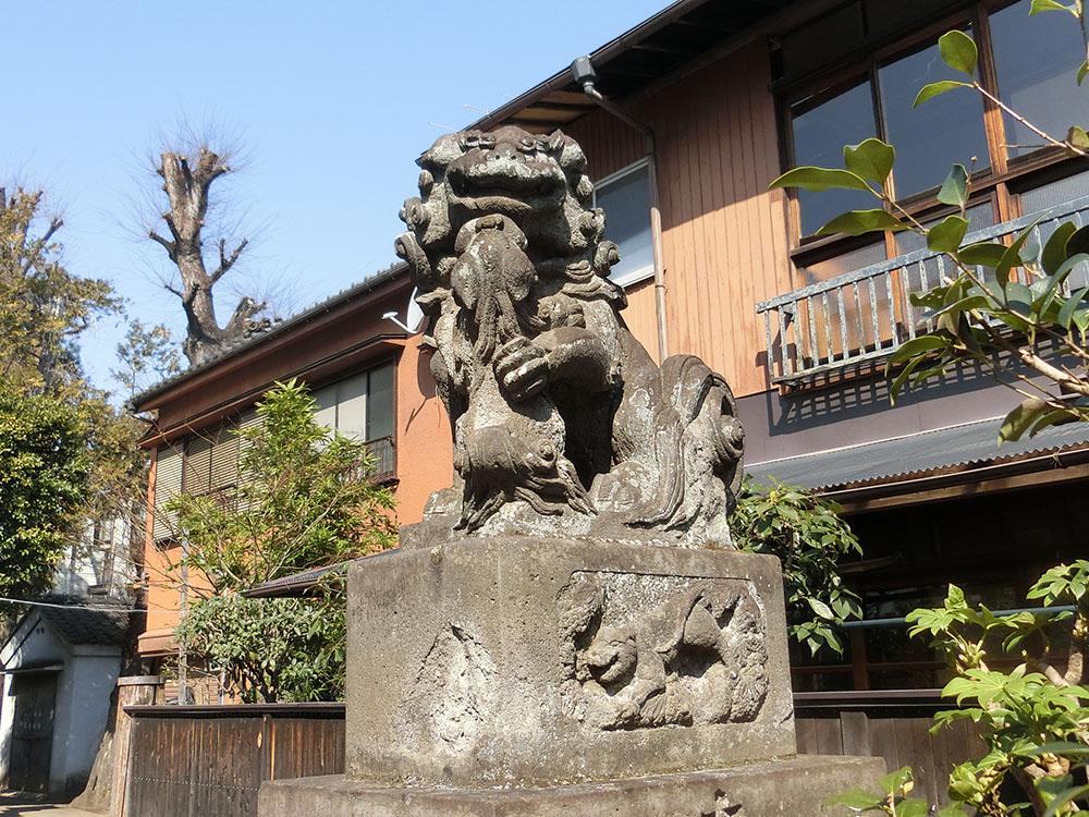 高円寺天祖神社の狛犬