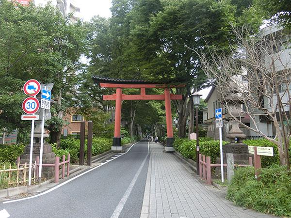 大宮氷川神社の一の鳥居