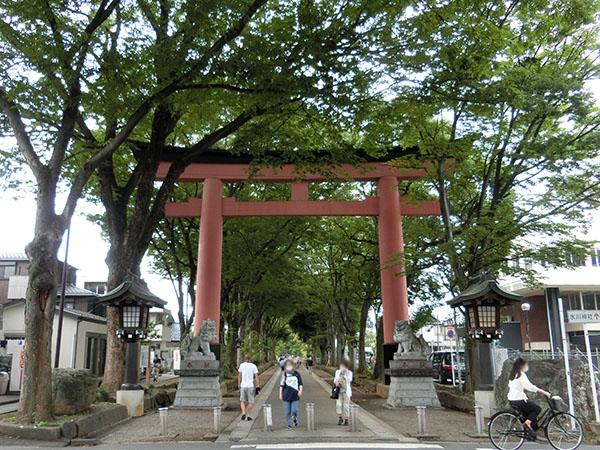 大宮氷川神社の二の鳥居