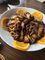 芋仔蕃薯の豚角煮とメンマ