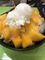 中興手工養生甜品 - 仙草弟弟之家の黒蜜マンゴーかき氷アイスのせ