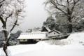 京都新聞写真コンテスト 初雪の山郷