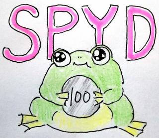 SPYD分配金とふふ~んガエル