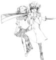 狩人と少女