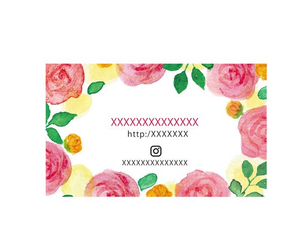 バラの花水彩イラストレーター