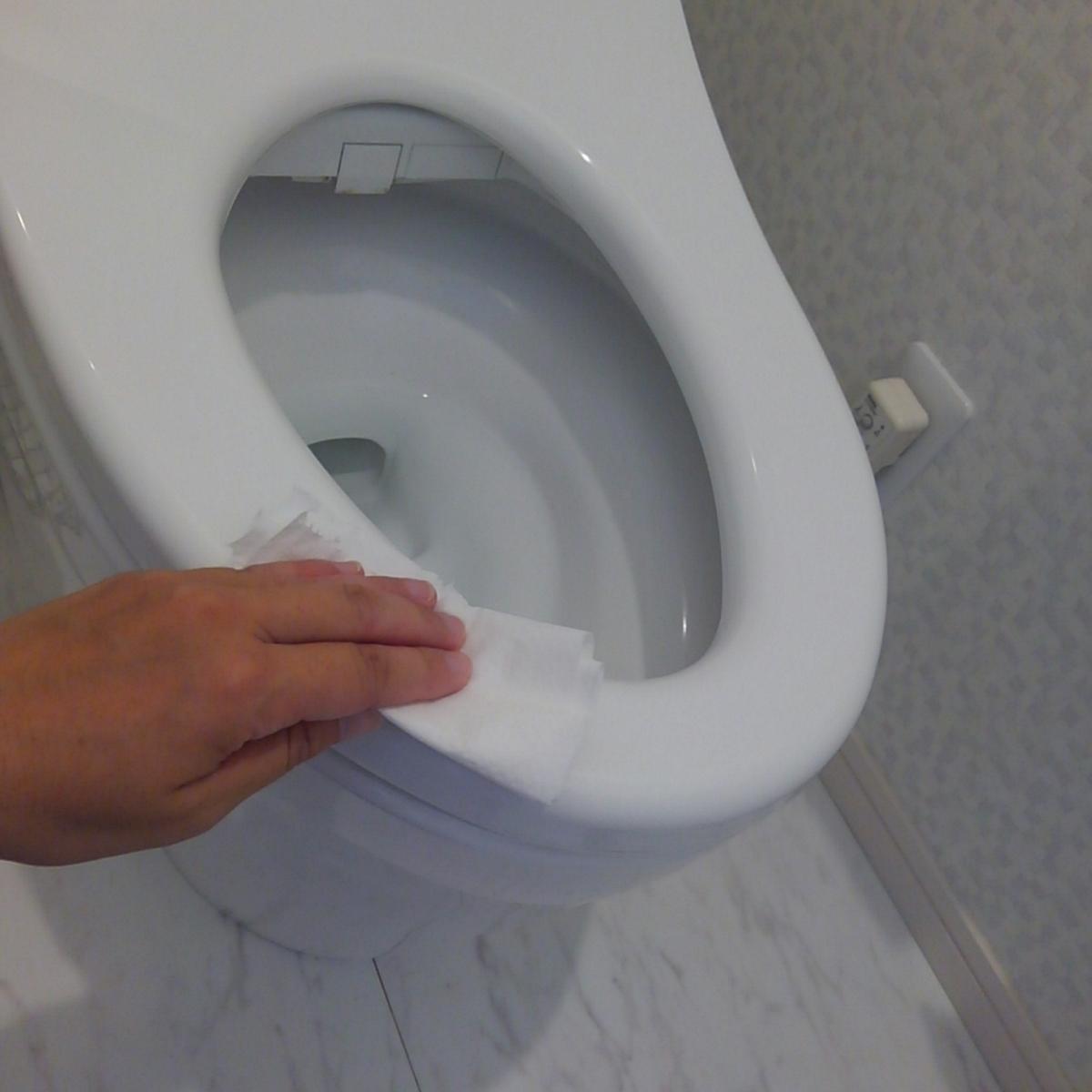 トイレ掃除 こどものトイレ