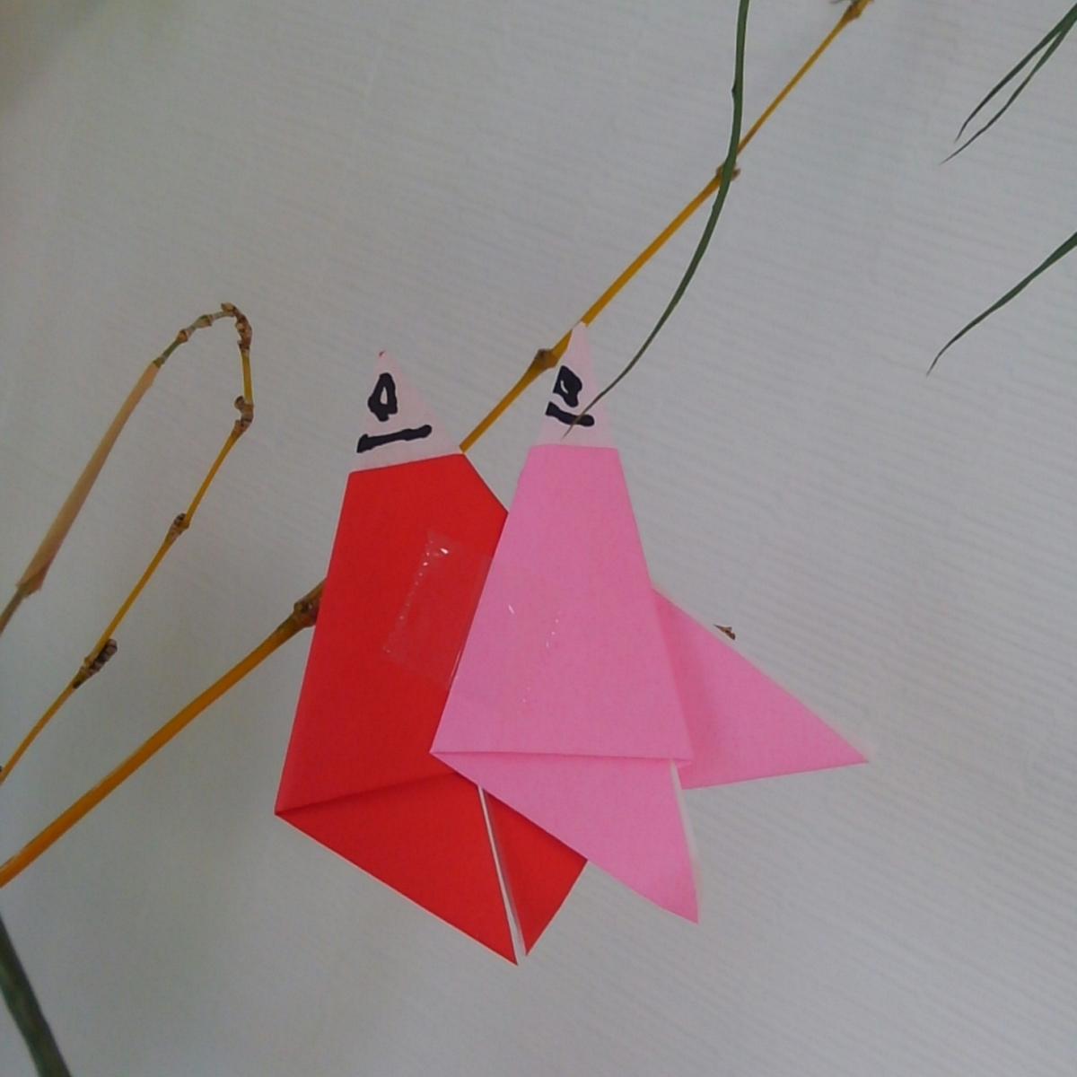 七夕飾り 織姫と彦星