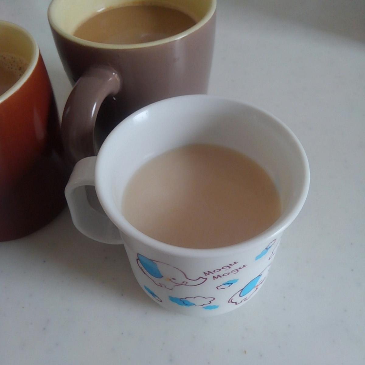 麦茶オレ こどもコーヒー