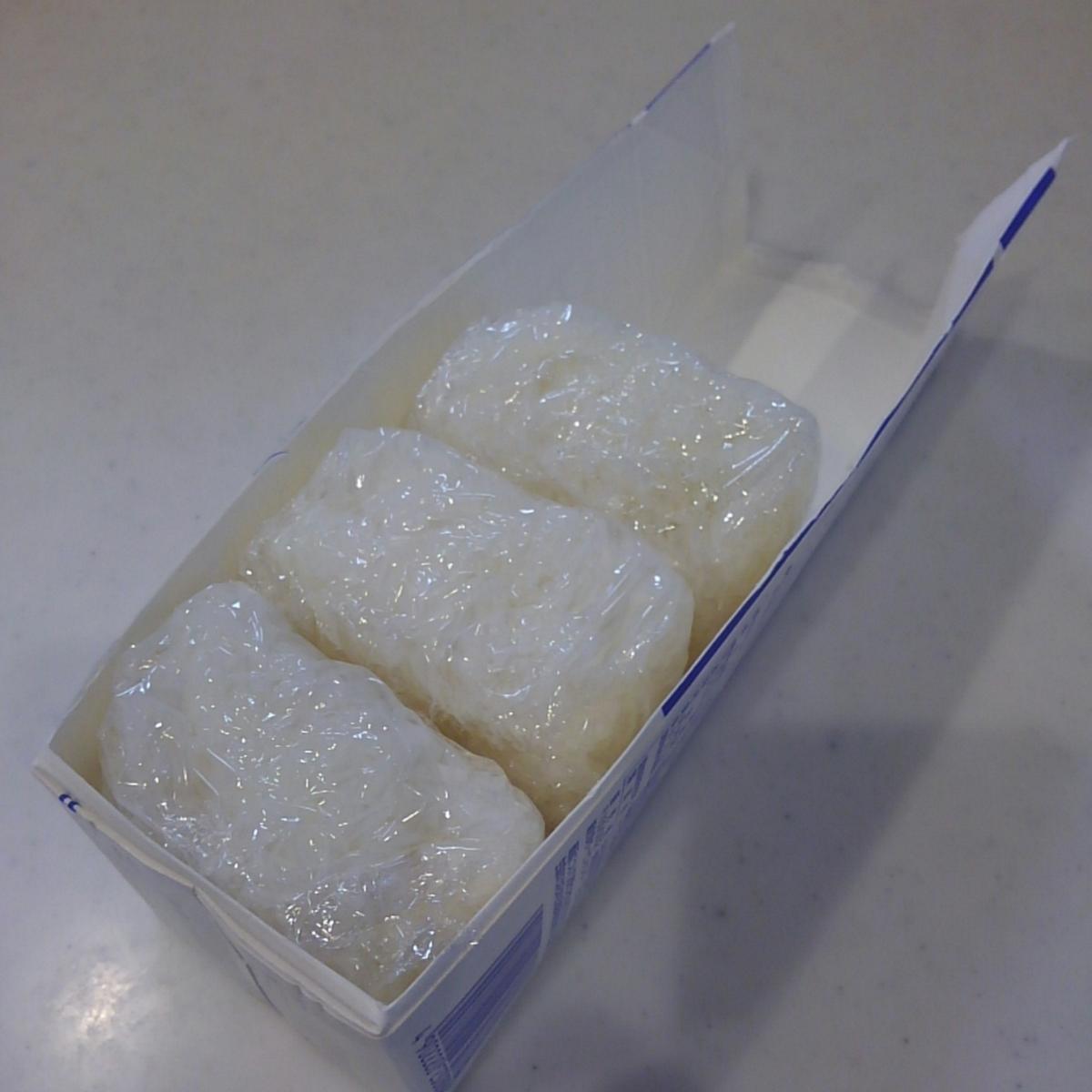 ごはん冷凍 牛乳パック