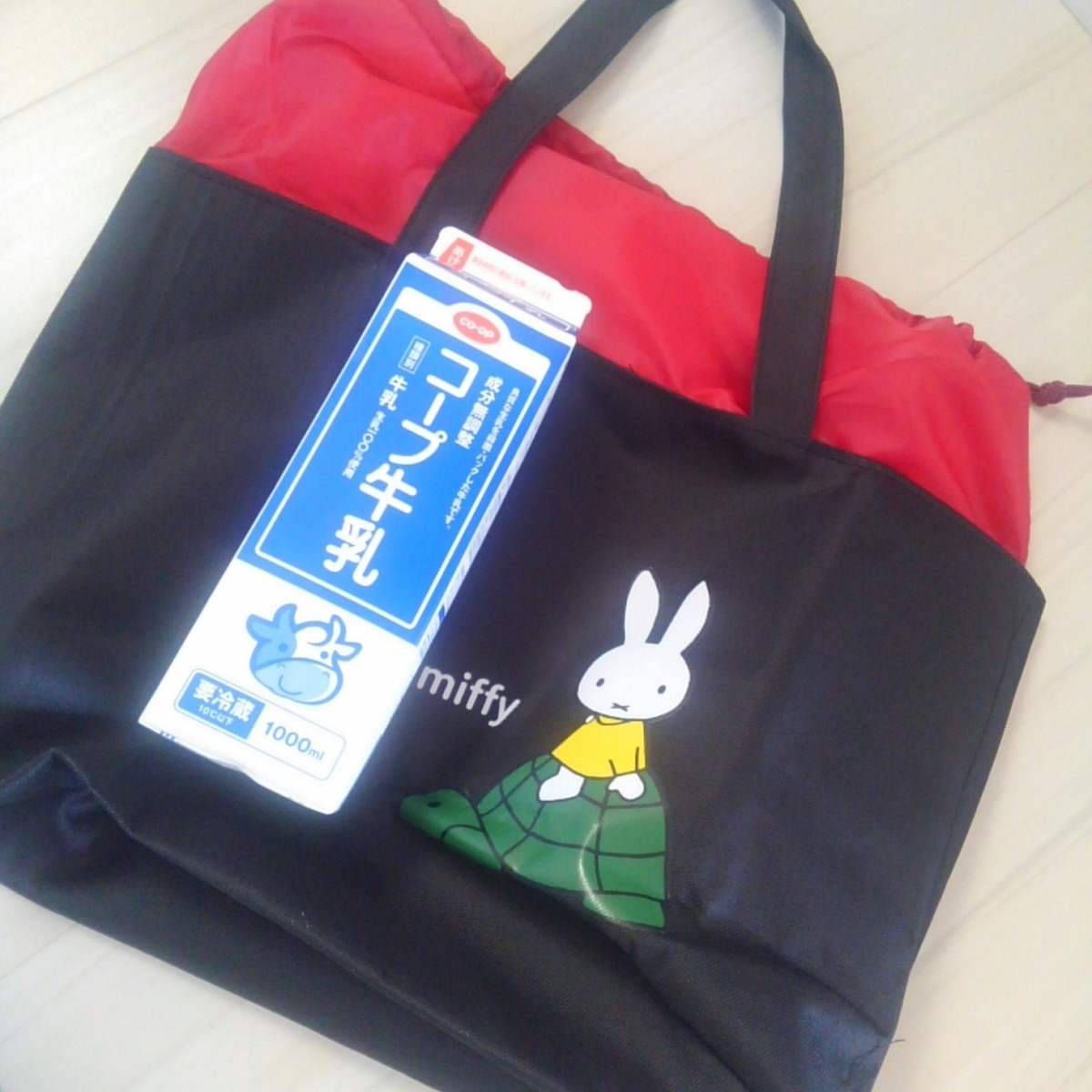 フジパン ミッフィーお買い物トート 2019