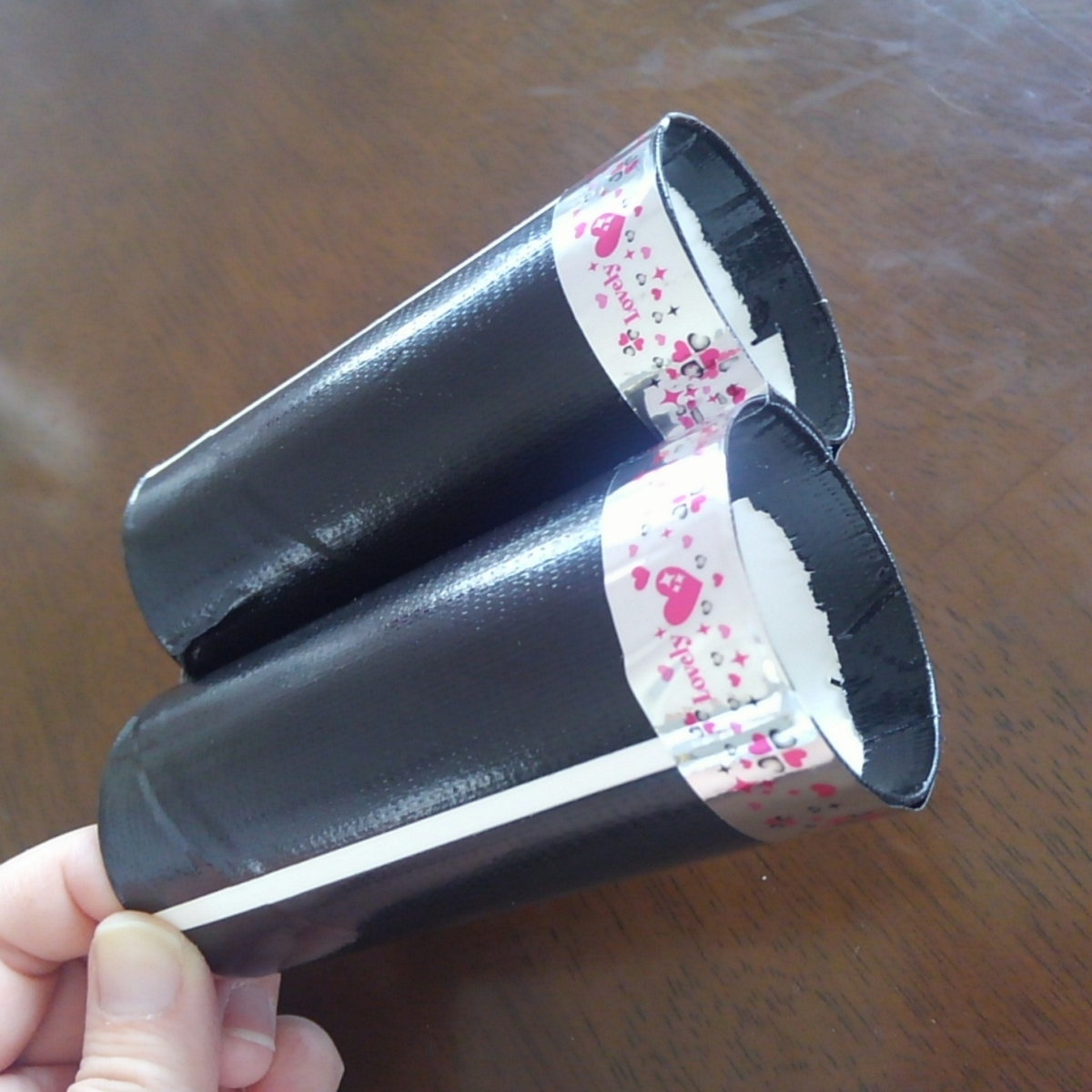 トイレットペーパーの芯 工作 双眼鏡