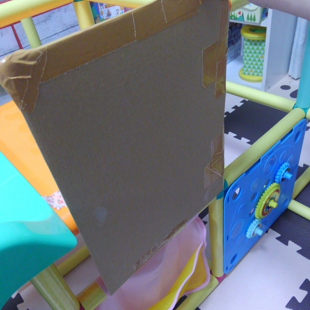 知育アスレチックプレミアム 室内用すべり台