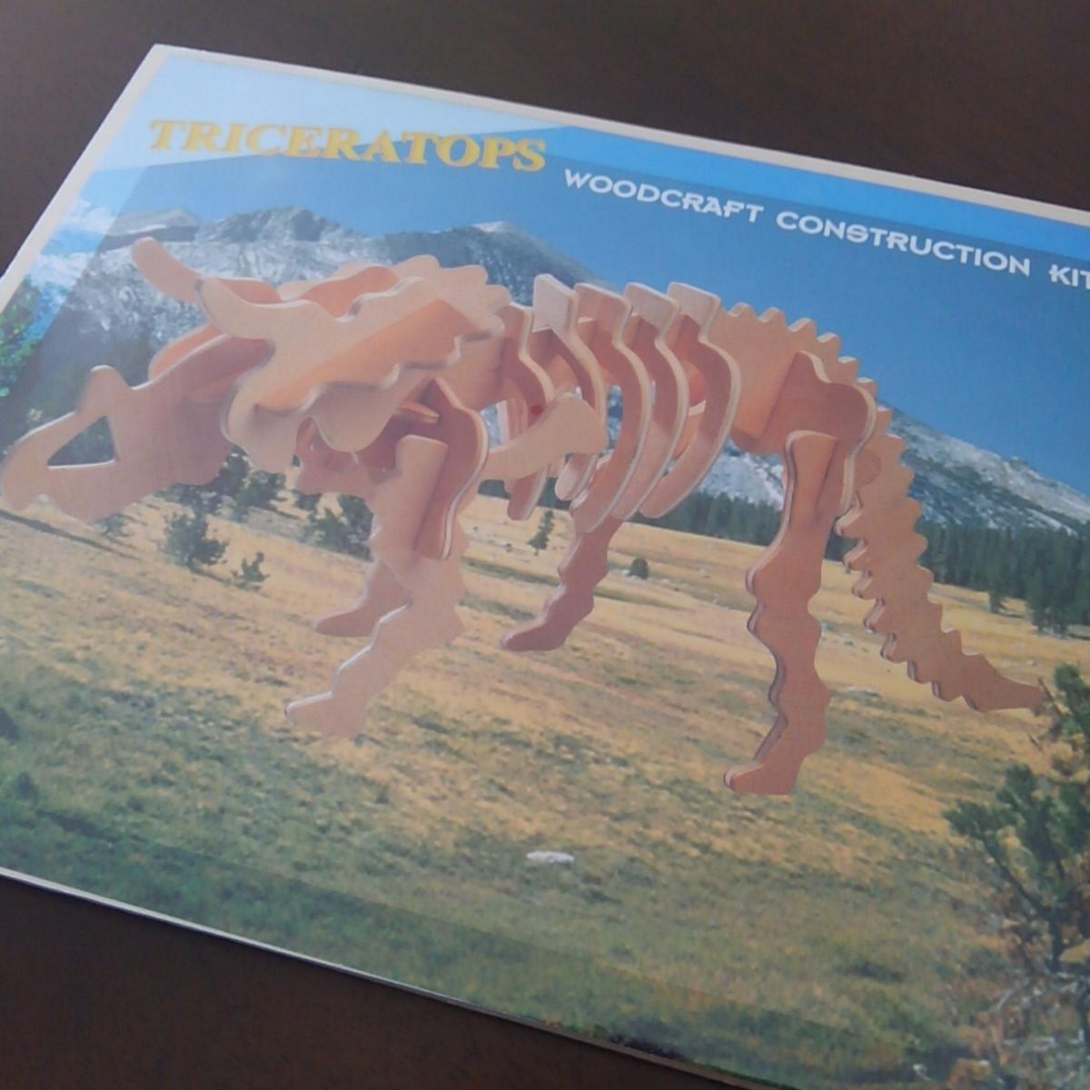 セリア 恐竜 ウッドクラフト