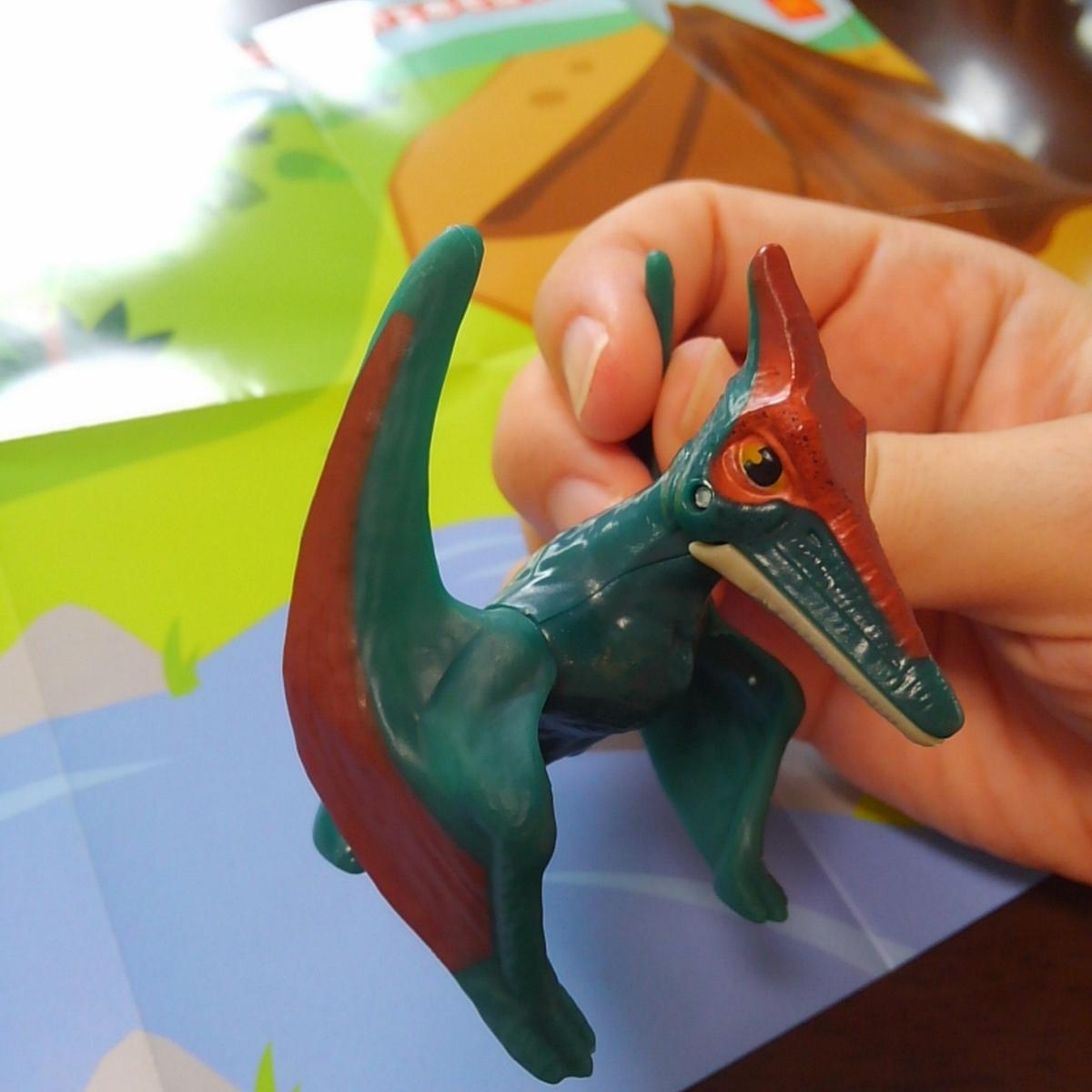 ハッピーセット ジュラシック・ワールド 恐竜