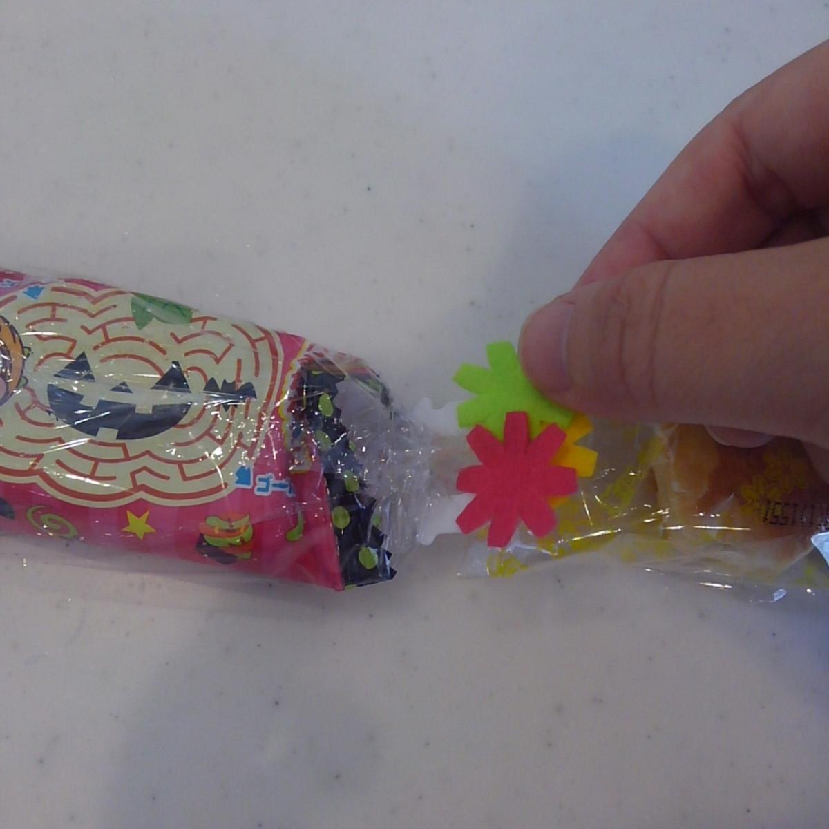 バッグ・クロージャー ラップ キャンディーレイ 手作り