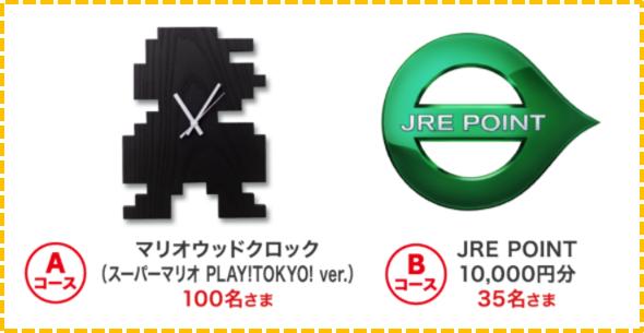 スーパーマリオスタンプラリー JR東日本