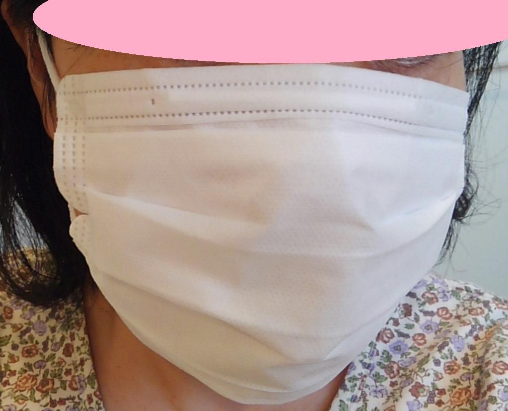 息が苦しくないマスク 0円工作 マスク便利グッズ