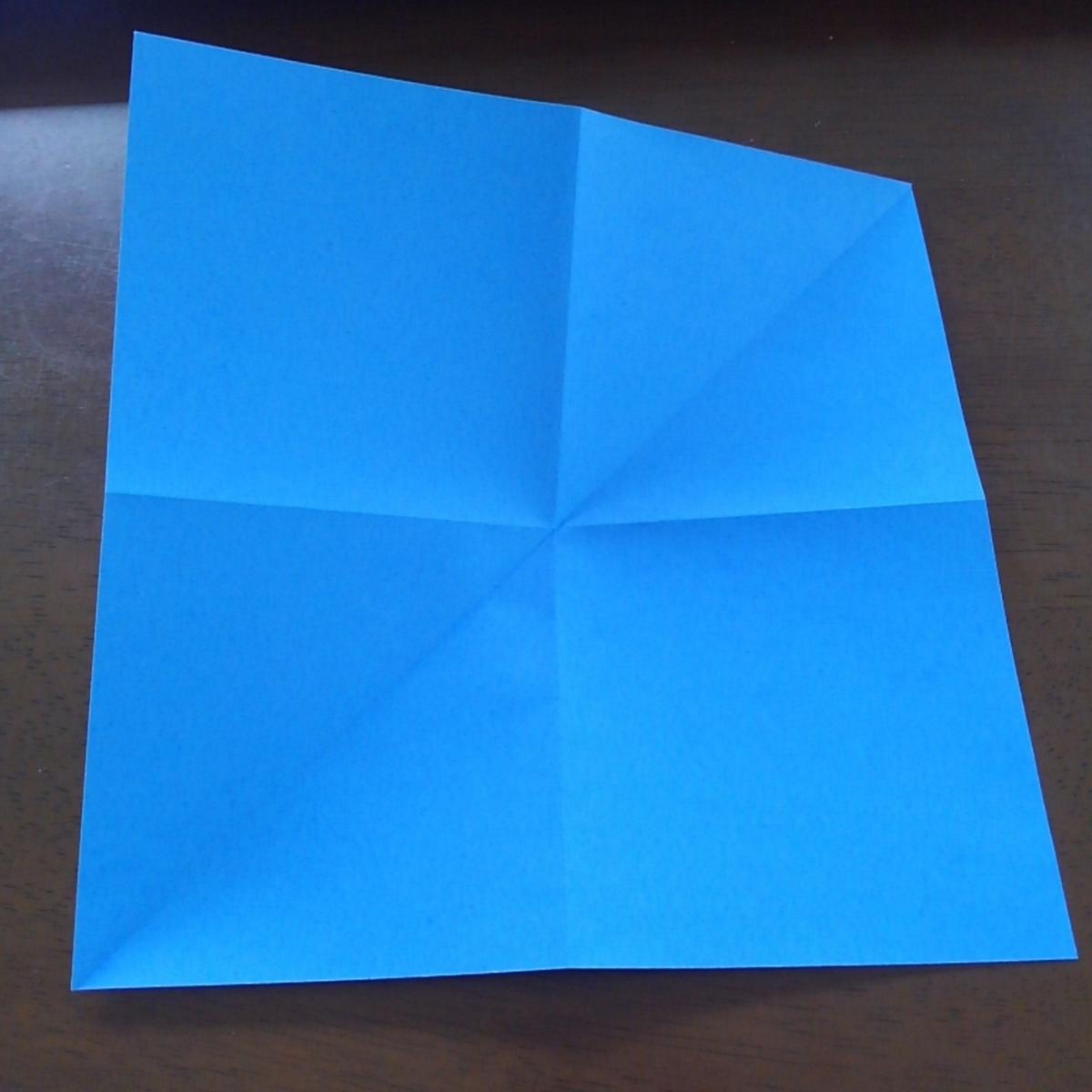 ハロウィン クモ 折り紙
