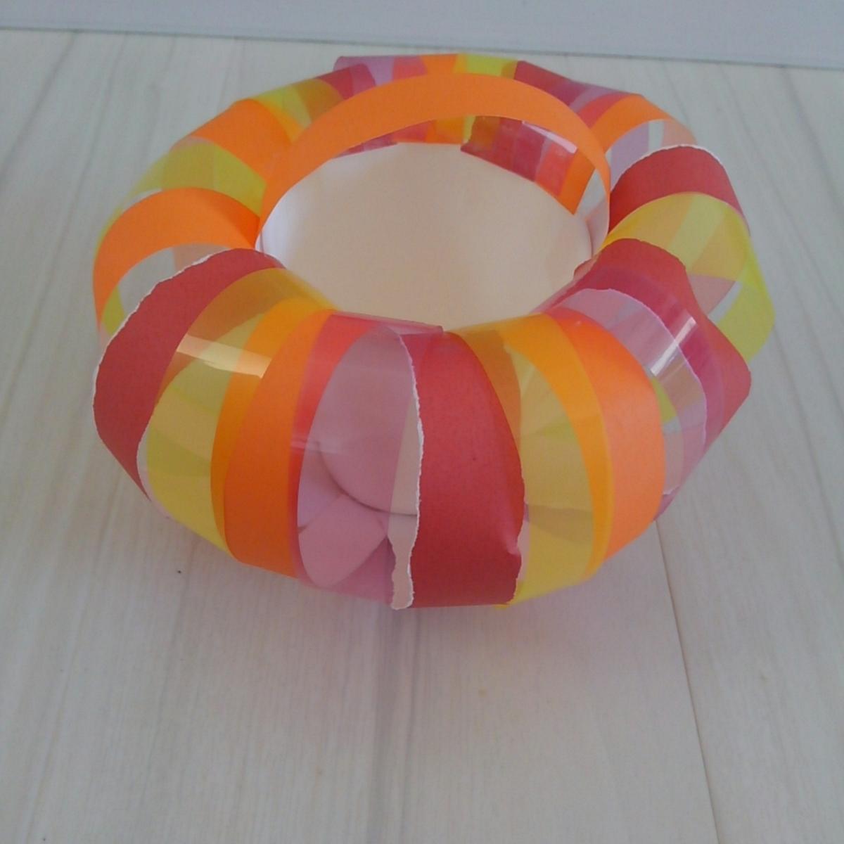 ハロウィン お菓子バッグ パンプキンバッグ 0円工作
