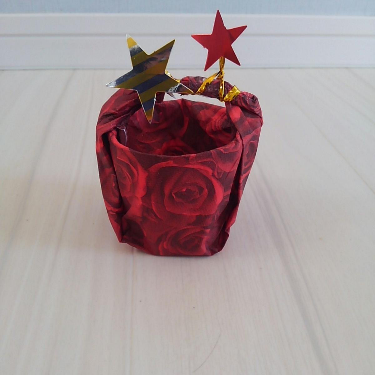 ハロウィン お菓子バッグ 紙コップ 0円工作