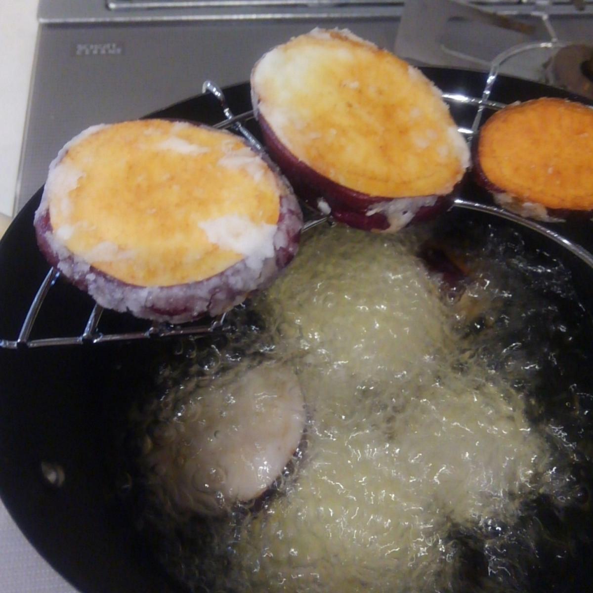 芋掘り さつまいも 簡単レシピ 片栗粉