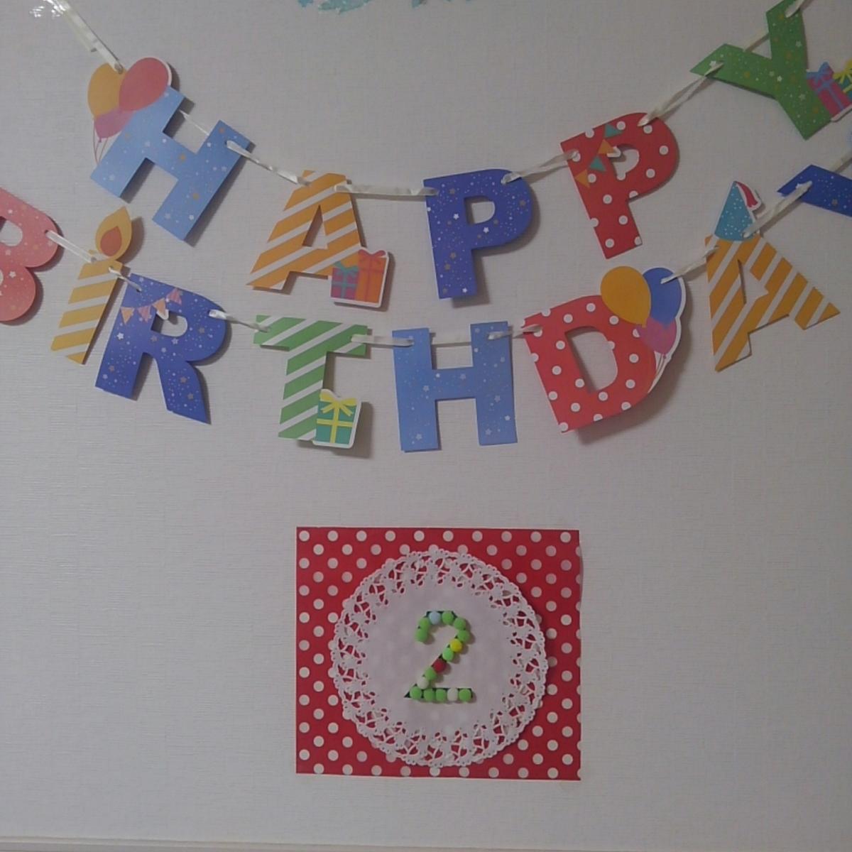 誕生日 年齢デコレーション 壁飾り