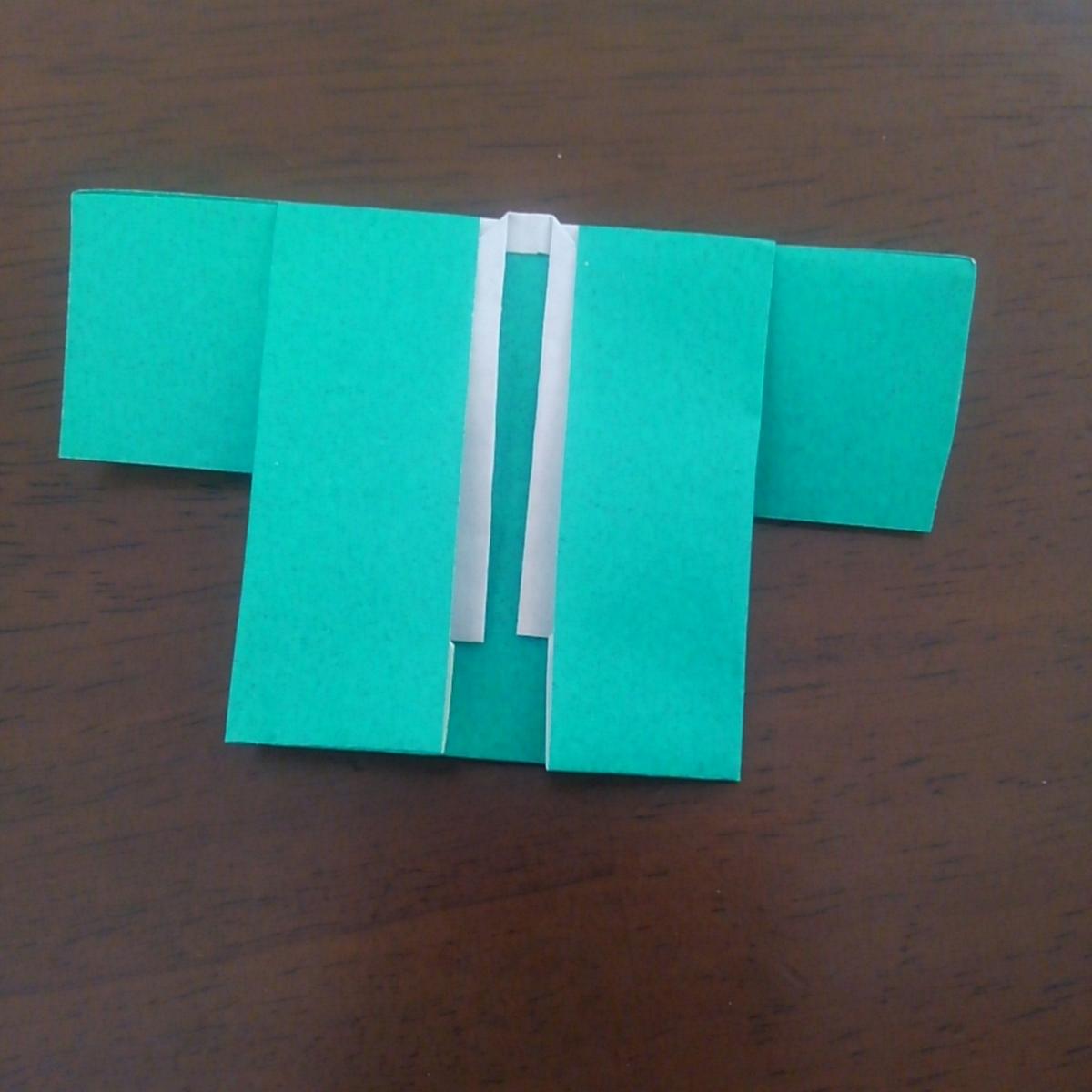 鬼滅の刃 折り紙 羽織 簡単 炭次郎